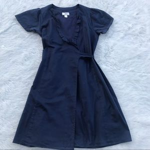 ✔️Ann Taylor LOFT Navy Blue Dress
